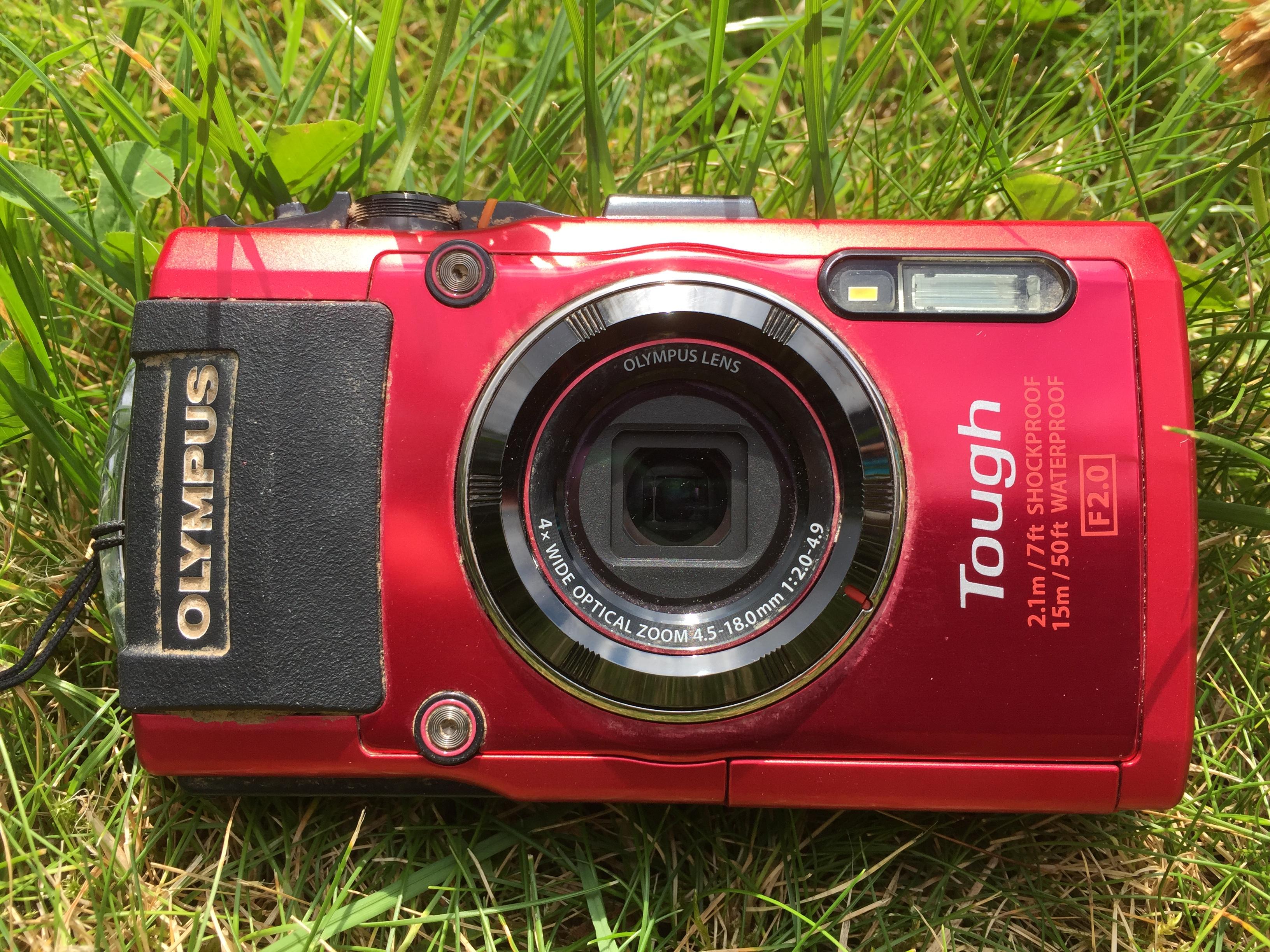 Kamera Olympus Tg 620 beim tough mudder nrw schien joey auf abwegen