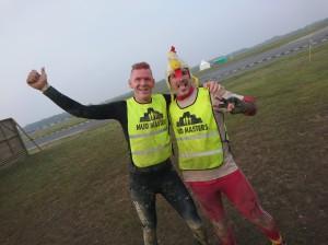 Mud Masters Obstacle Run Night Shift, Hindernislauf Deutschland, Tough Chicken mit Dutch Mud Man