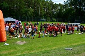 Wrestling Run, Hindernislauf Deutschland, Startbereich